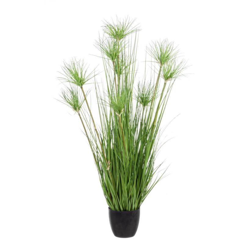 DESERTO GREEN PLANT X9F H120CM W-VASE