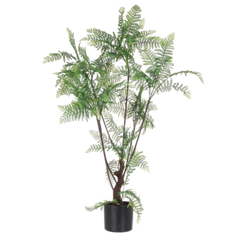 FERN PLANT 75LEAVES H108 W-VASE