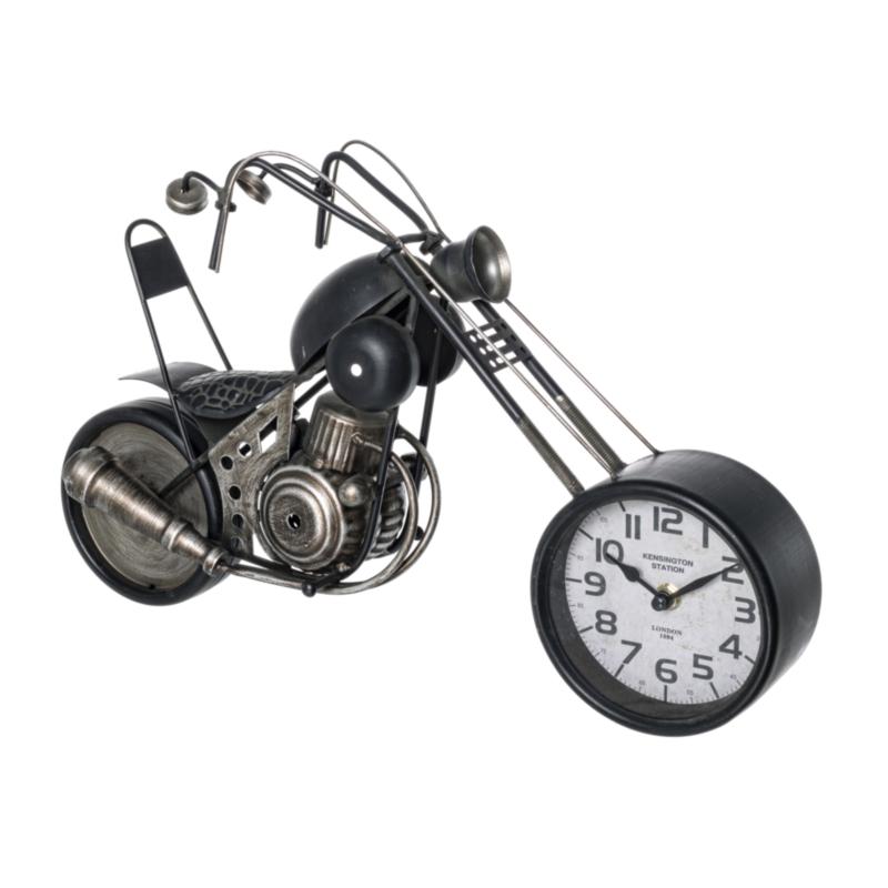 CHARLES MOTORCYCLE TABLE CLOCK 180-1