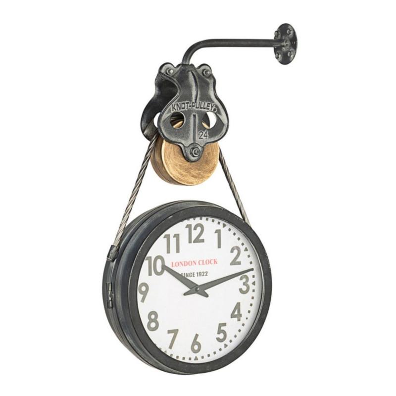 CHARLES PULLEY WALL CLOCK 334-1