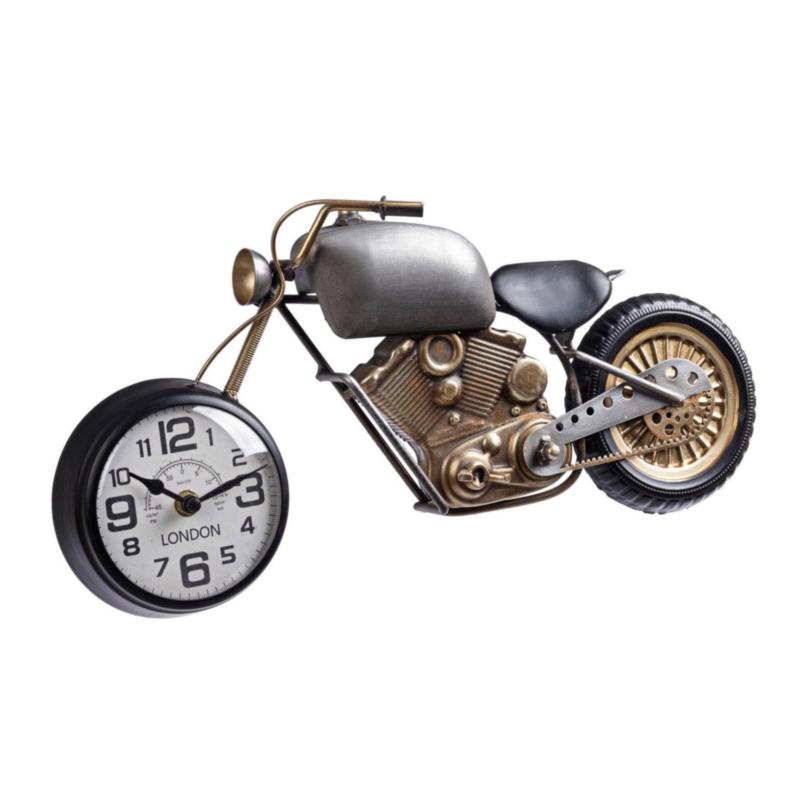 CHARLES MOTO WALL CLOCK 089-1