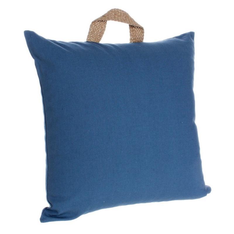 EMOTION BLUE CUSHION 45X45
