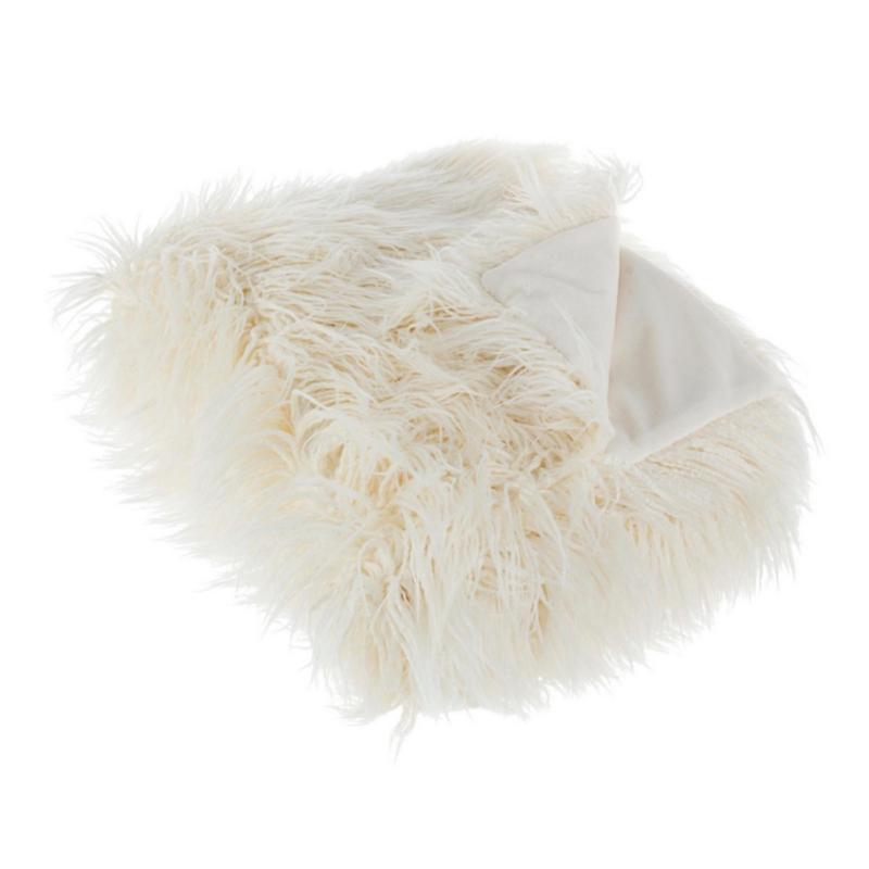 ALESHA WHITE THROW 120X150