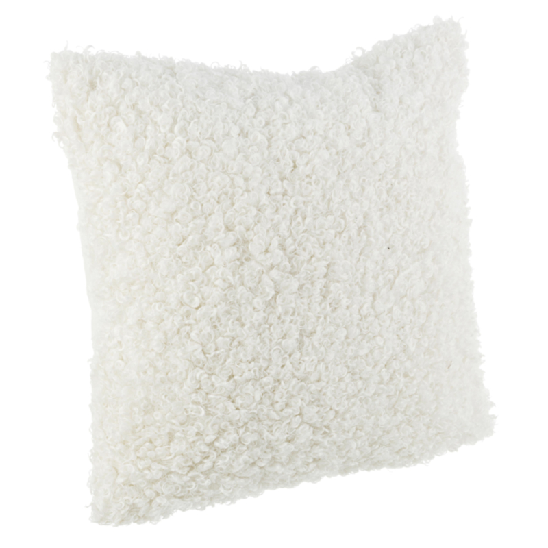 COUSSIN CURLY BLANC 45X5