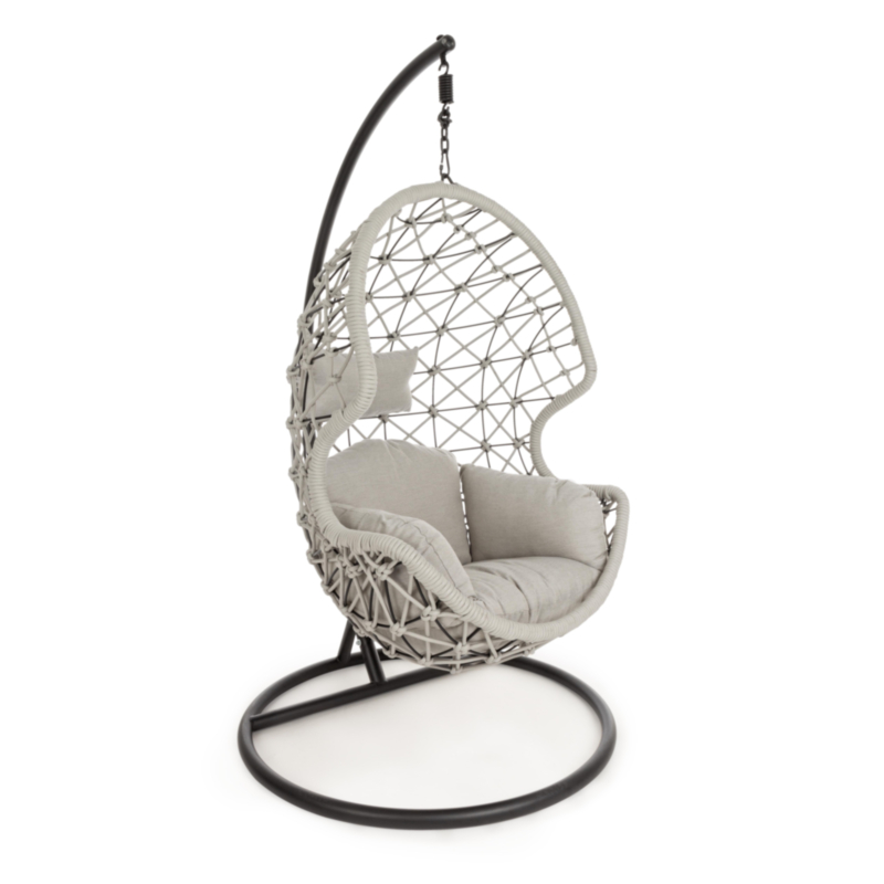 KELLY HANGING ARMCHAIR W-CUSHION