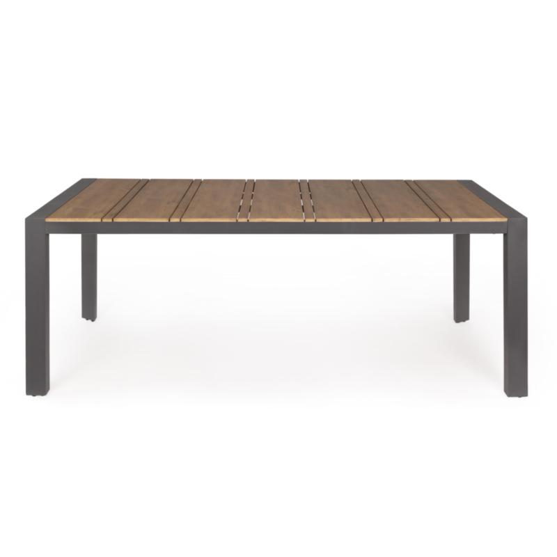 TABLE ELIAS 198X100 ANTHRACITE SJ61