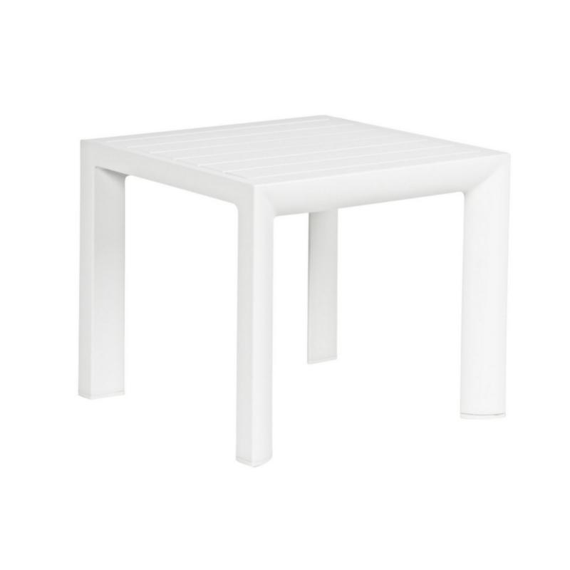 TABLE BASSE CRUISE 40X40 BLANC GK50