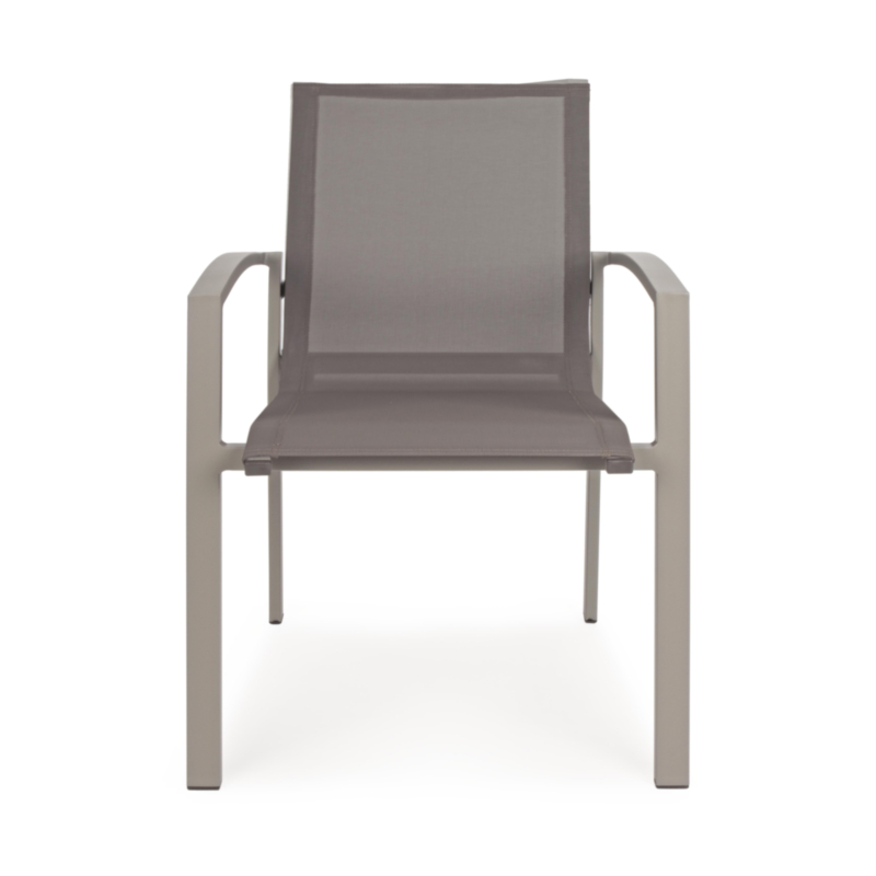 ATLANTIC TAUPE YK12 CHAIR W-ARMR