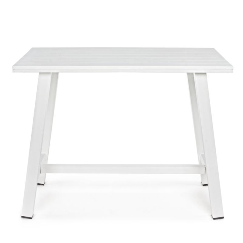 TABLE BAR SKIPPER BLANC YK11 130X73