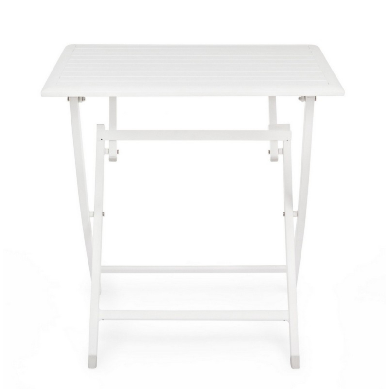 ELIN WHITE LH30 FOLDING TABLE 70X70