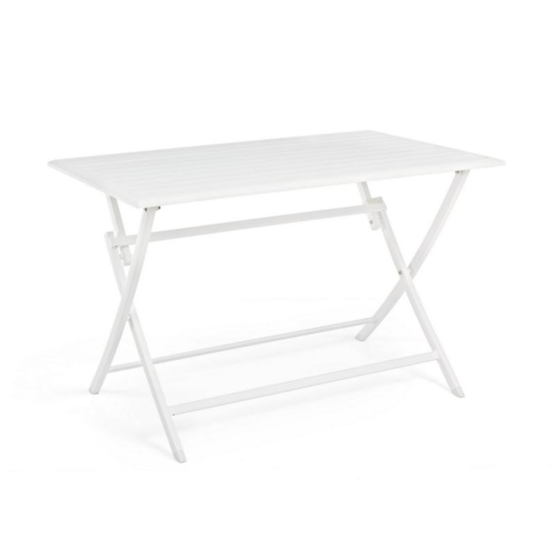 ELIN WHITE LH30 FOLDING TABLE 110X70