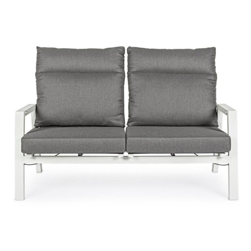 KLEDI LUNAR RECL SOFA 2 SEATS W-CUSH