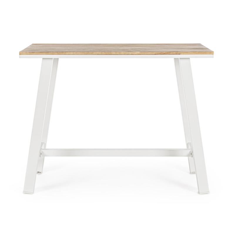 TABLE BAR SKIPPER WOOD BLANC YK11 - FSC
