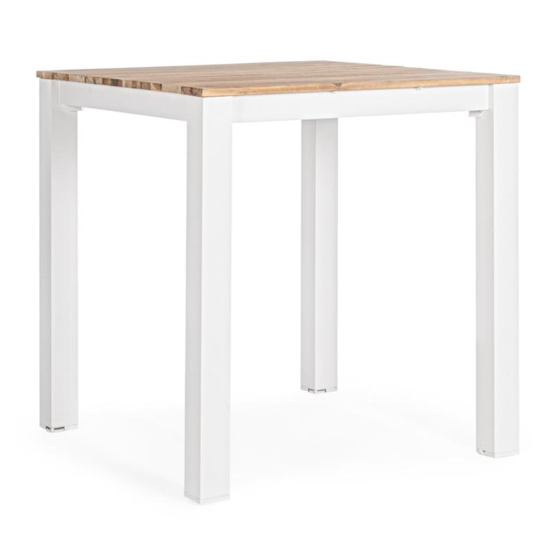TABLE BAR KAILANI BLANC YK11 94X94 - FSC