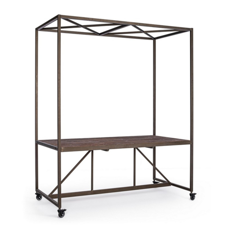 EXHIBITOR TABLE W-ROOF 180X220H