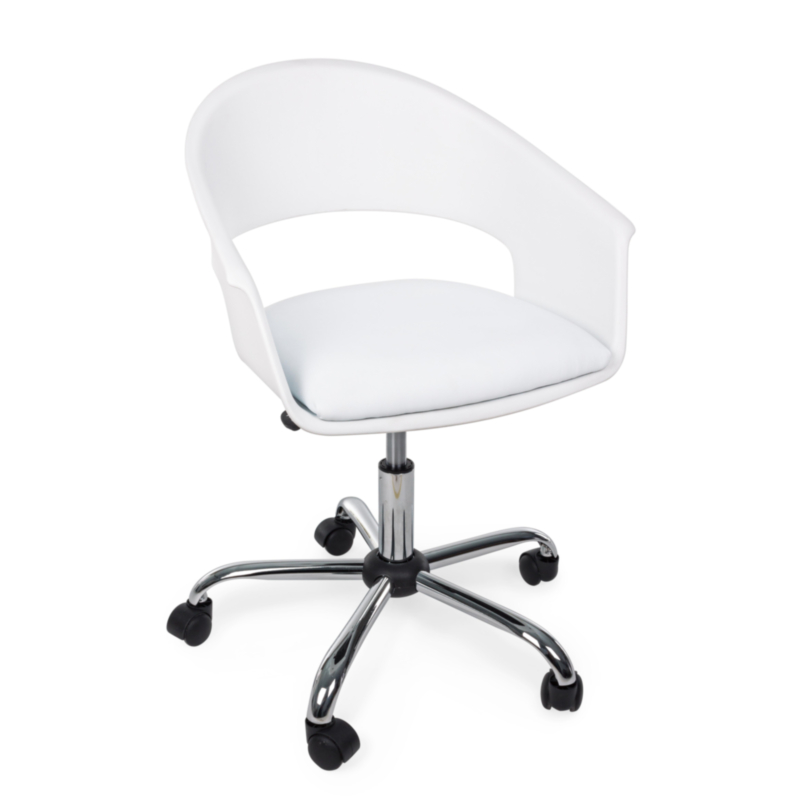 WELLS WHITE OFFICE CHAIR