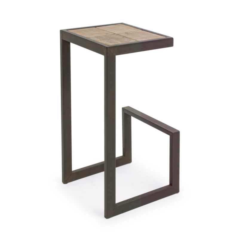 TABOURET BAR BLOCKS H70