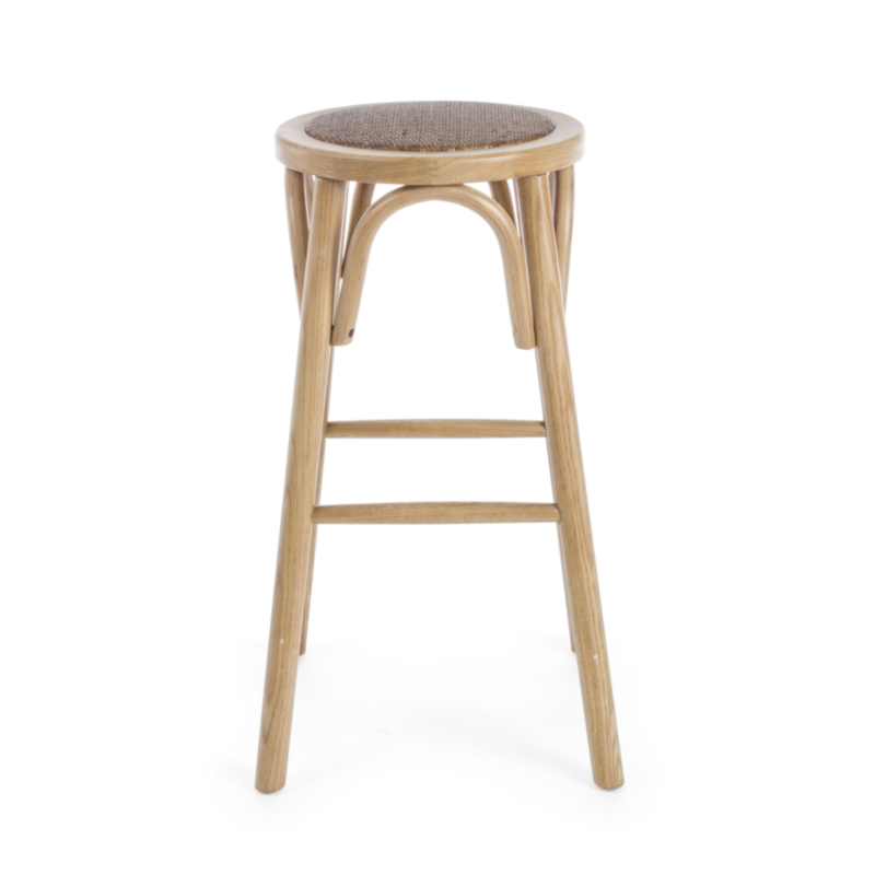 TABOURET BAR CIRCLE NATUREL