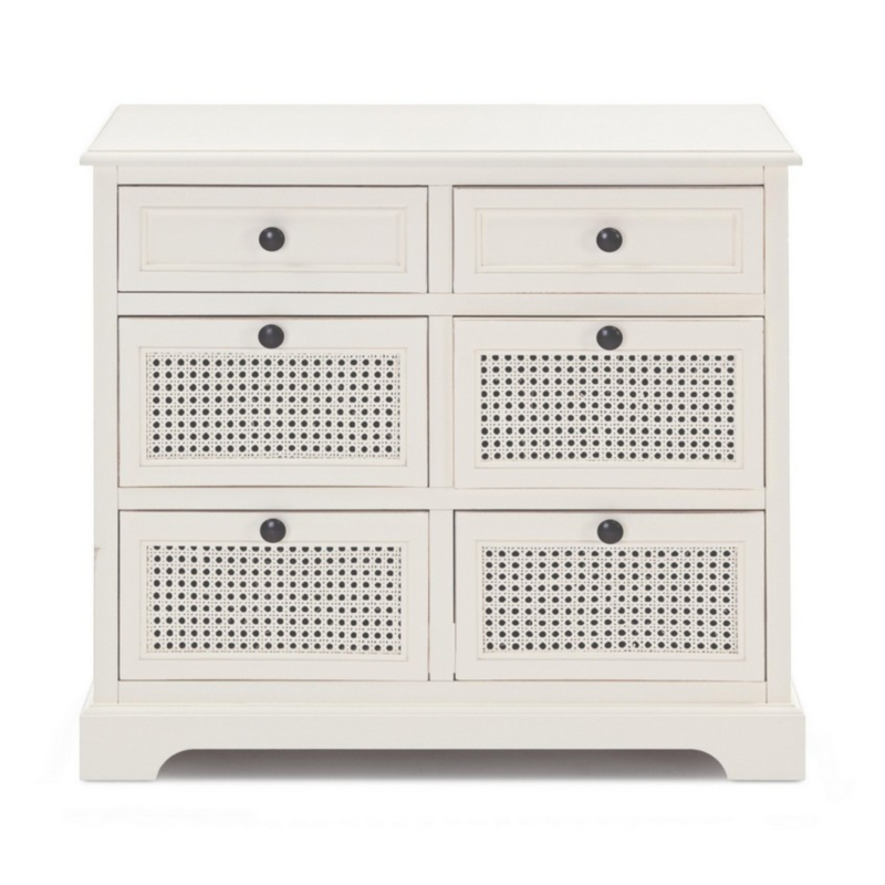 AMABEL CHEST OF DRAWERS 6DR