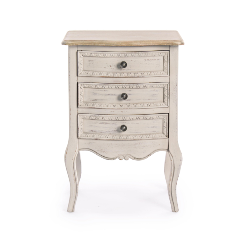 CLARISSE BEDSIDE TABLE 3DR