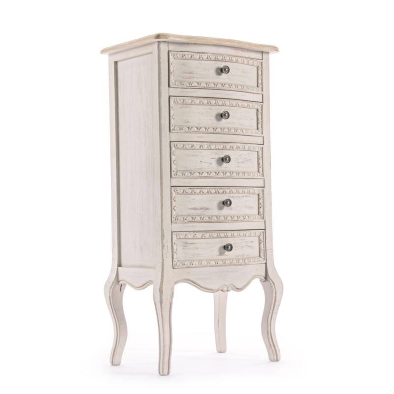 CLARISSE CHEST OF DRAWERS 5DR