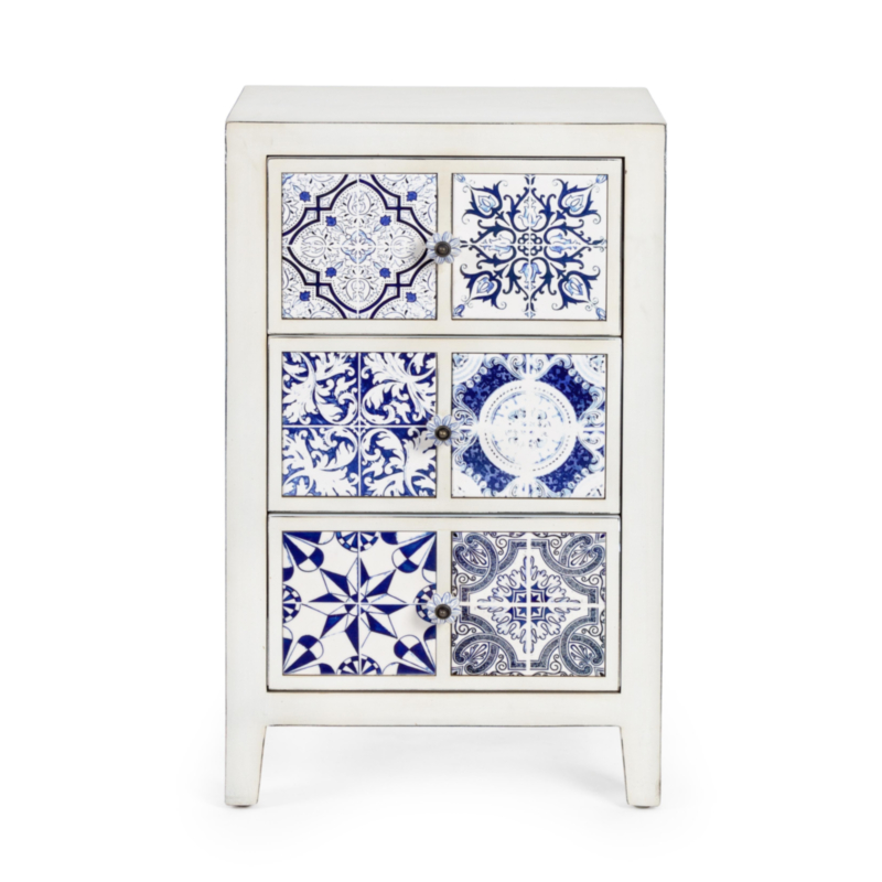 DEMETRA CHEST OF DRAWERS 3DR