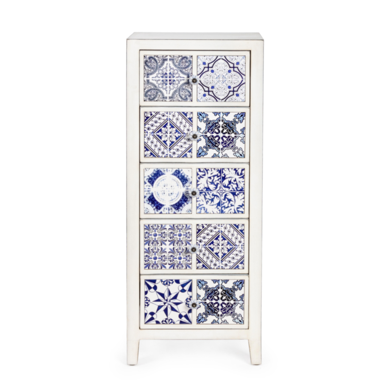 DEMETRA CHEST OF DRAWERS 5DR