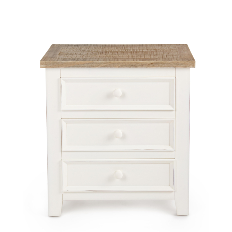 ELVIA BEDSIDE TABLE 3DR