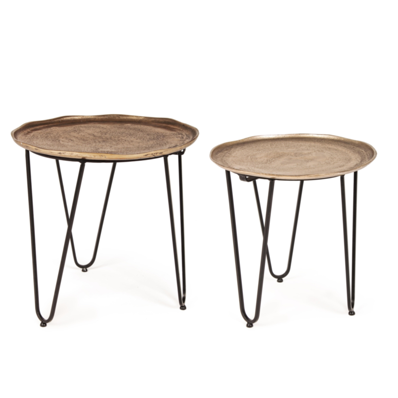 SET2 TABLE BASSE AMIRA X73 RONDE
