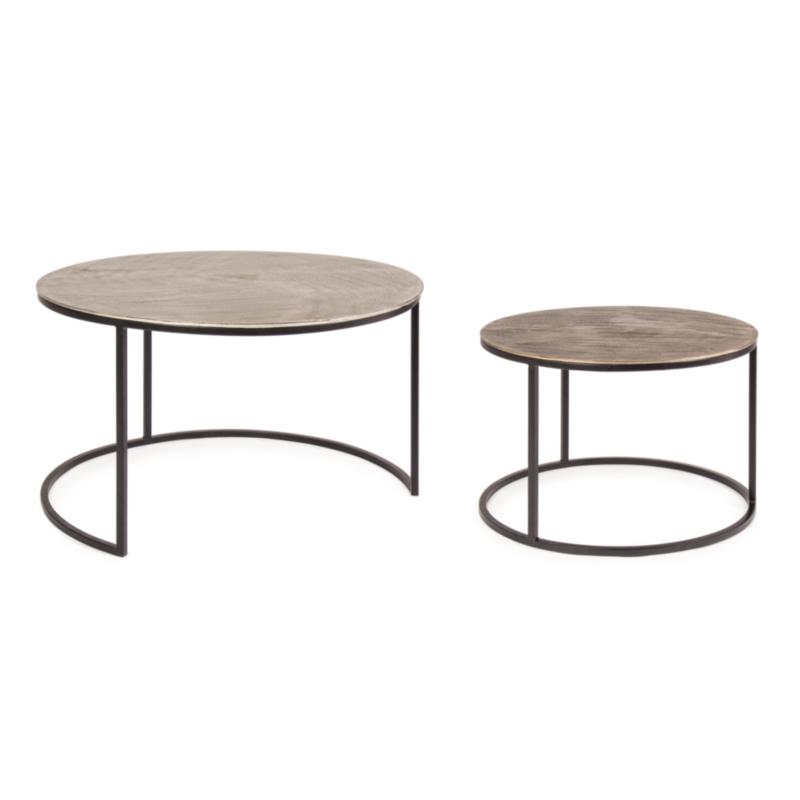 SET2 TABLE BASSE AMIRA X34 RONDE