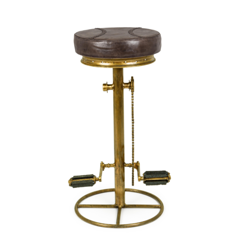 TABOURET BAR CYCLE OR H80