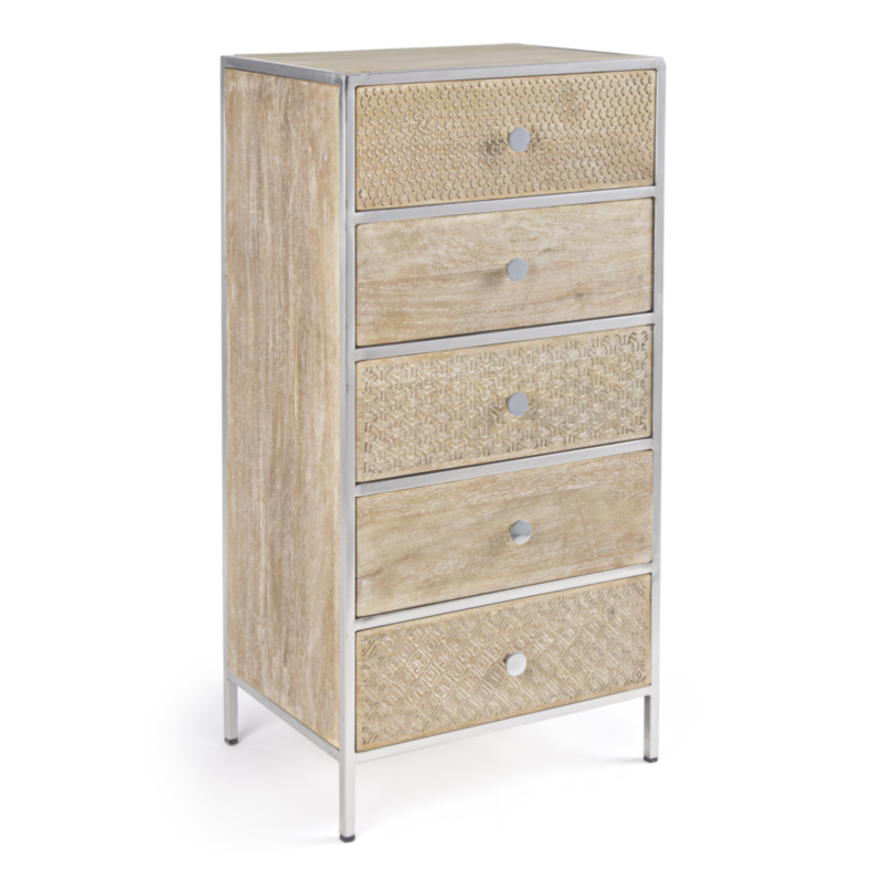 ADIVA CHEST OF DRAWERS 5DR
