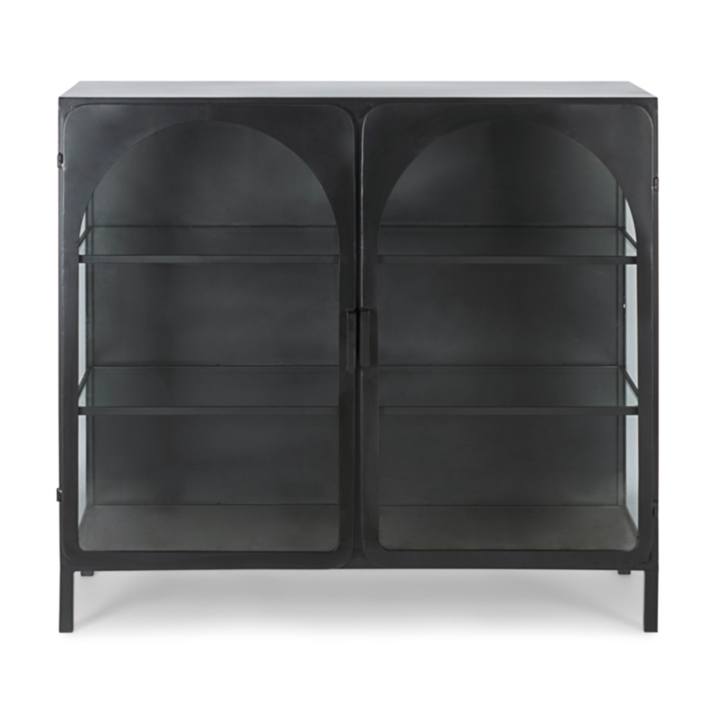 NERISSA LOW DISPLAY CABINET 2DO