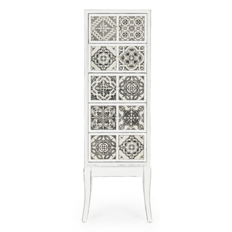 DIMITRA CHEST OF DRAWERS 5DR