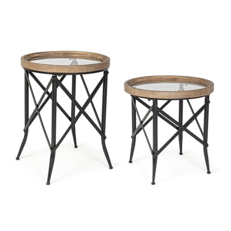 SET2 TABLE BASSE EVANS RON. D50