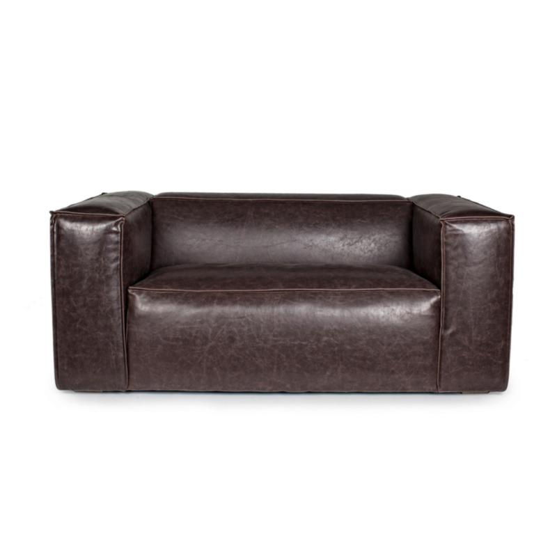 DAKOTA BROWN SOFA 2-3 SEATS