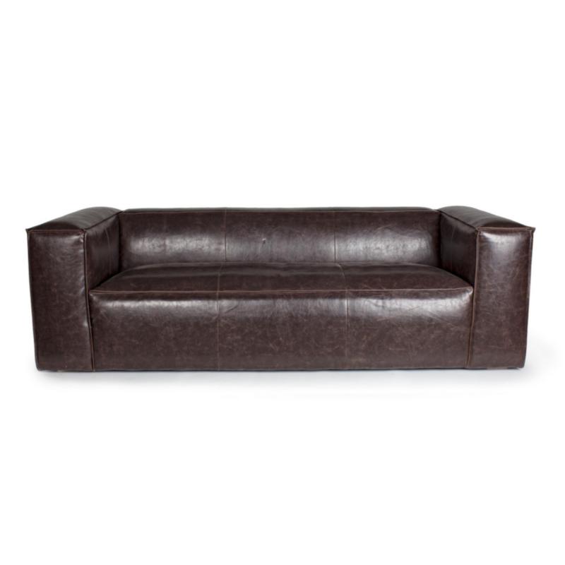 DAKOTA BROWN SOFA 3-4 SEATS
