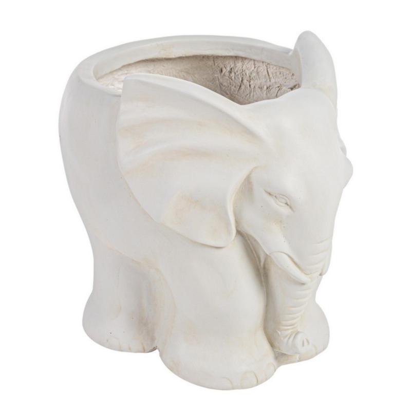 GARDEN ELEPHANT VASE L