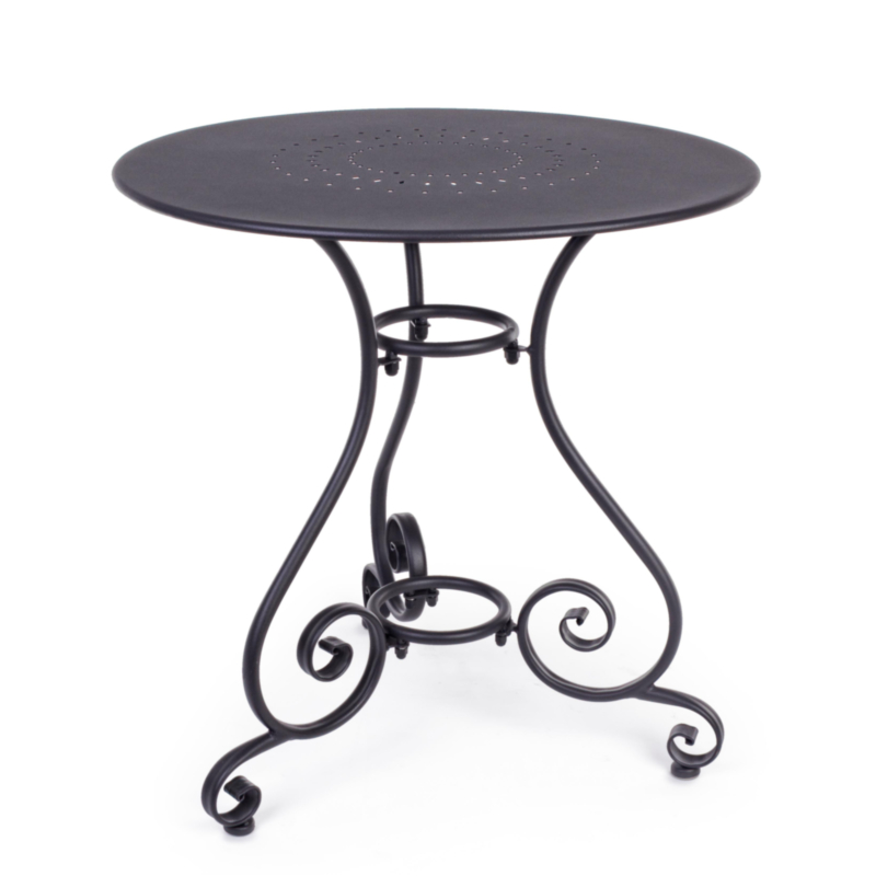 TABLE ETIENNE ANTHRACITE D70