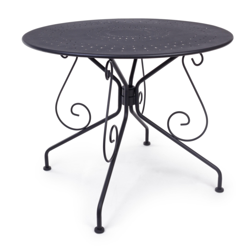 TABLE ETIENNE ANTHRACITE D90