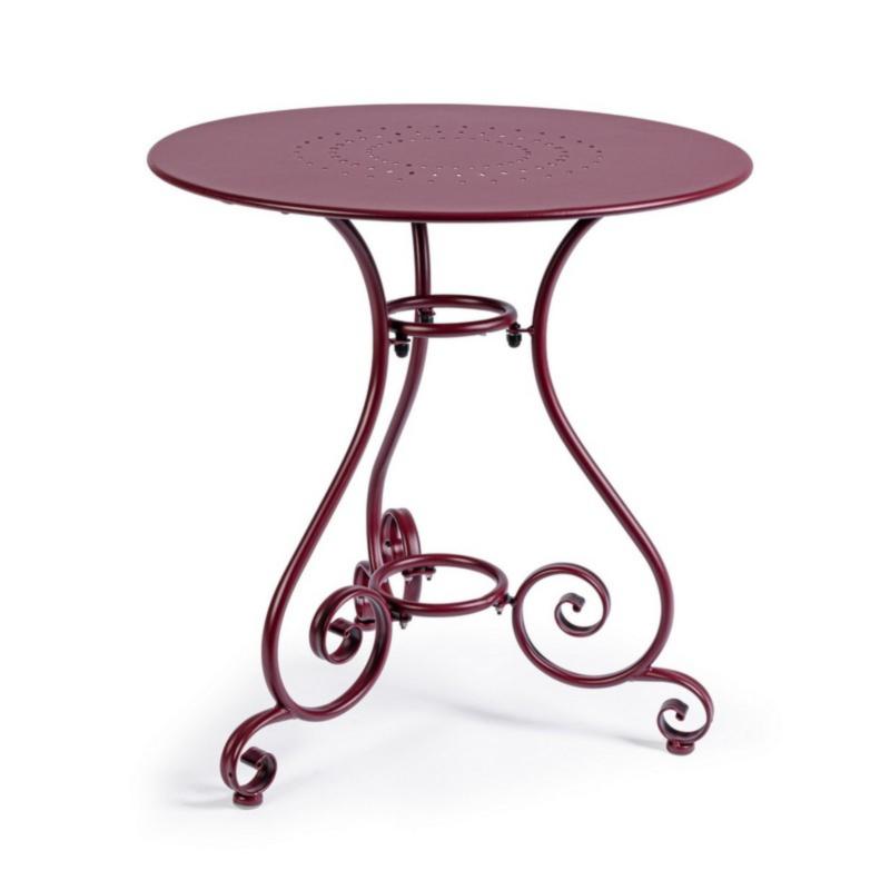ETIENNE BURGUNDY TABLE D70