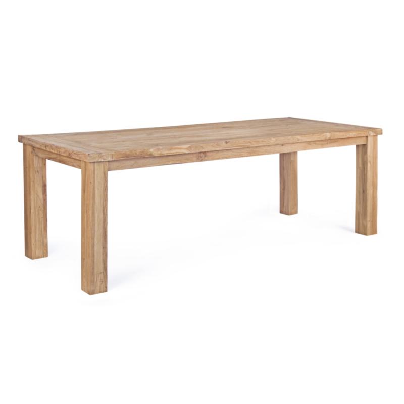 TABLE BOUNTY TECK RECYCLÉ 240X100
