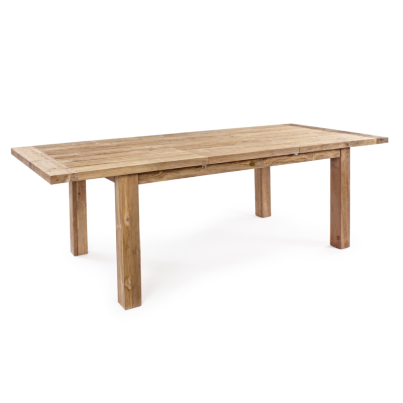 BOUNTY EXT. TABLE 180-250 RECYCLED TEAK