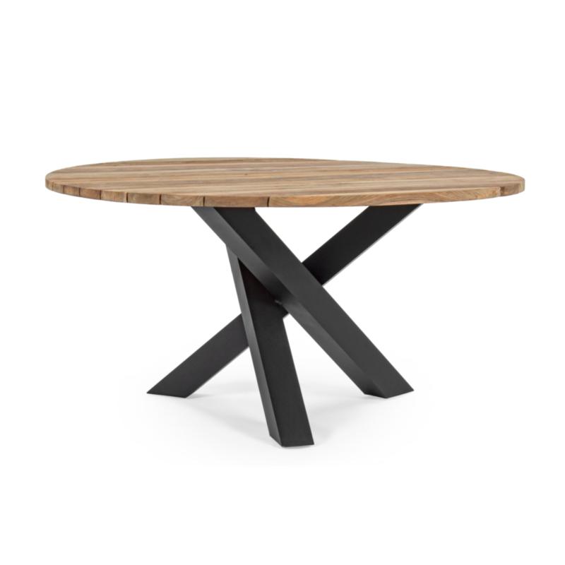 TABLE BRANDON NOIR D150 PM02