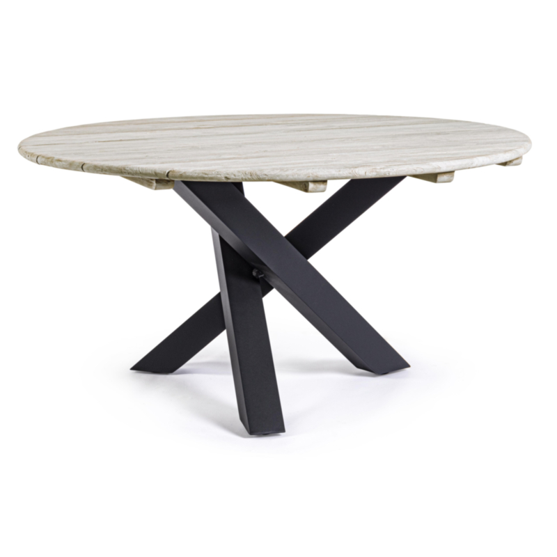 TABLE DONALD ANTHRACITE D150 PM02