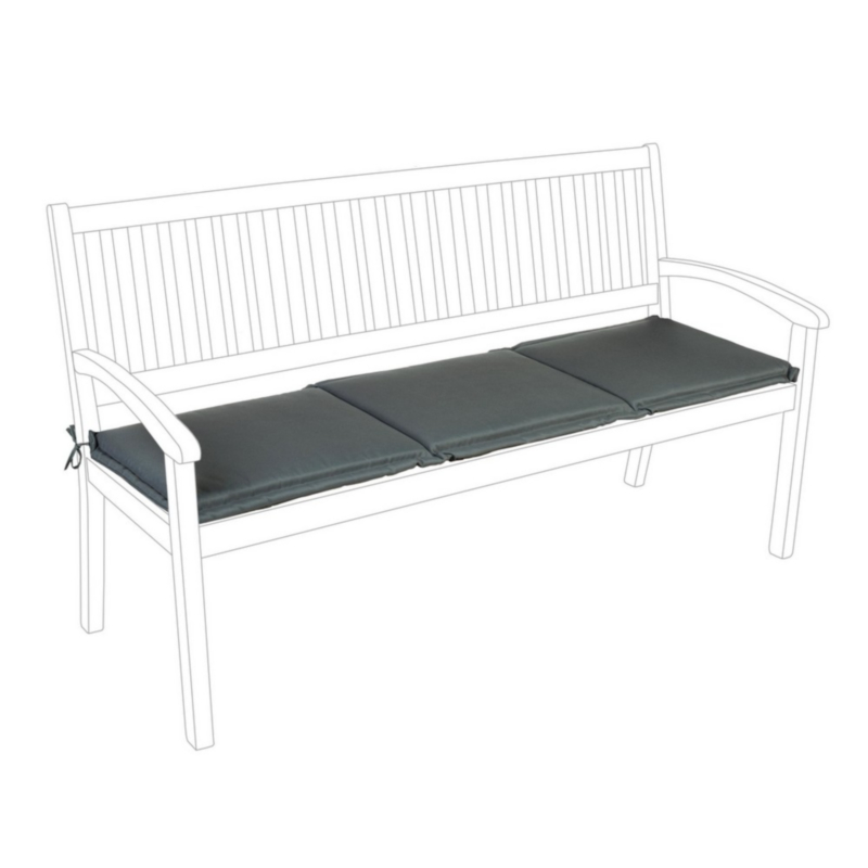 ANTHRACITE POLY180 CUSHION FOR BENCH 3 S