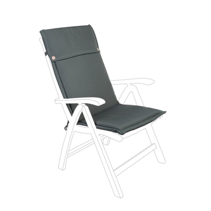 ANTHRACITE POLY180 CUSHION HIGH BACK