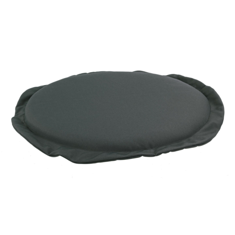 ANTHRACITE POLY180 ROUND SEAT CUSHION