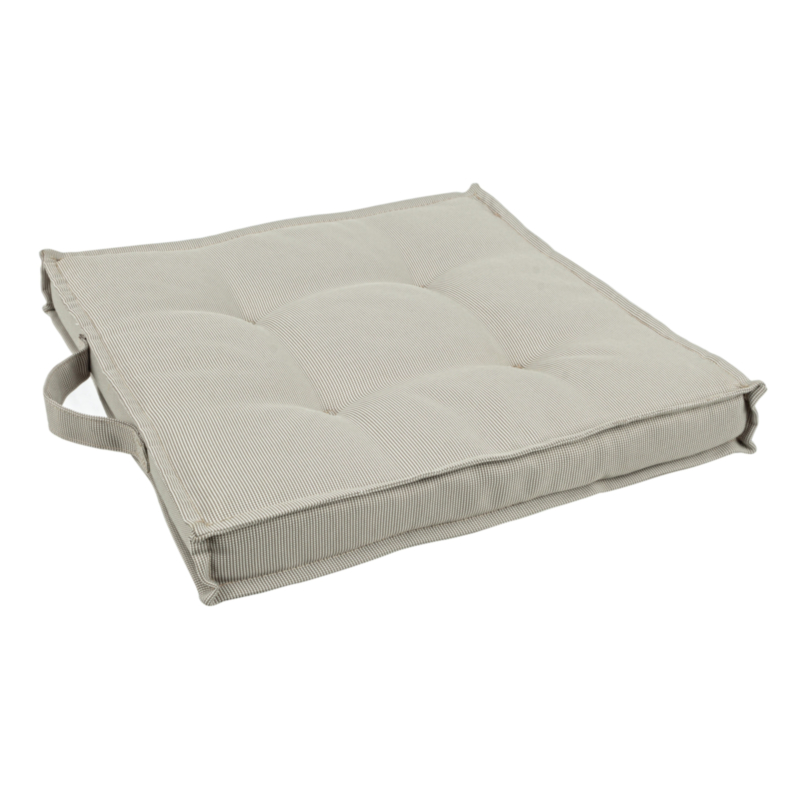 BEIGE POLY230 SQUARE CUSHION