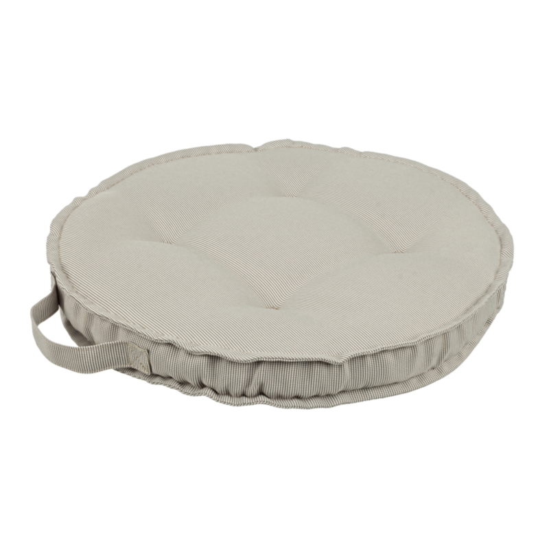 BEIGE POLY230 ROUND CUSHION